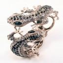 Silver Lizard Bracelet