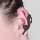 Black Cat One sided Earring
